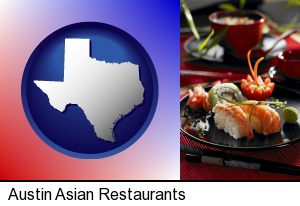 Asian-style food in Austin, TX